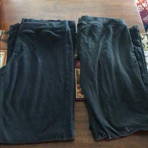 2 pair of Champion leggings large tall
